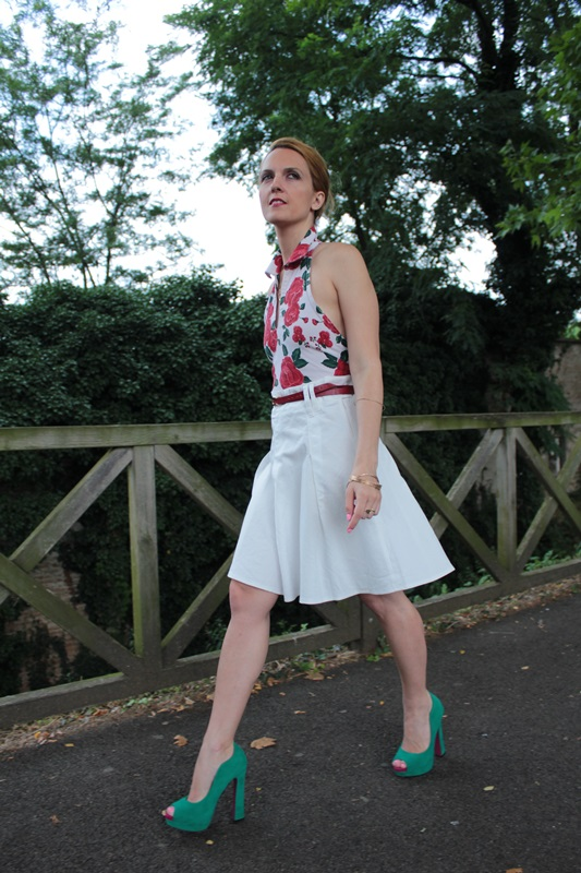 Margaret Dallospedale, Fashion blogger, The Indian Savage diary, Fashion blog, www.indiansavage.com, fashion tips, Lifestyle, How to wear, Floral print, top, 3