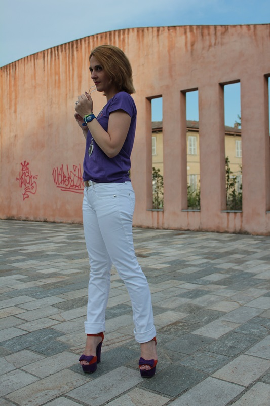 Margaret Dallospedale, Fashion blogger, The Indian Savage diary, Fashion blog, www.indiansavage.com, fashion tips, Lifestyle, How to wear, White pants, Copacabana watch, 5