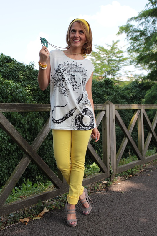 Yellow pants fashion tip 43 by maggie dallospedale Fashion style 101 blogspot