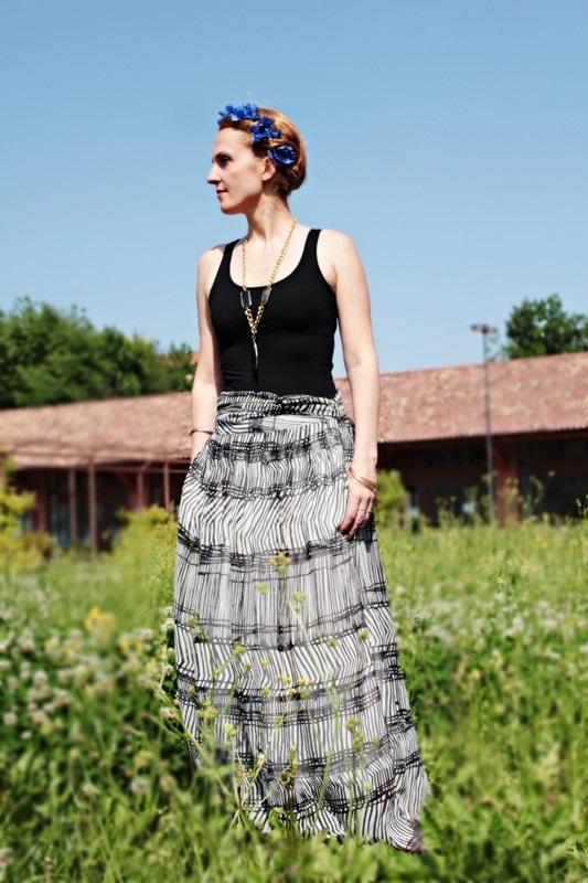 African Print Magic Print Fashion Outfit