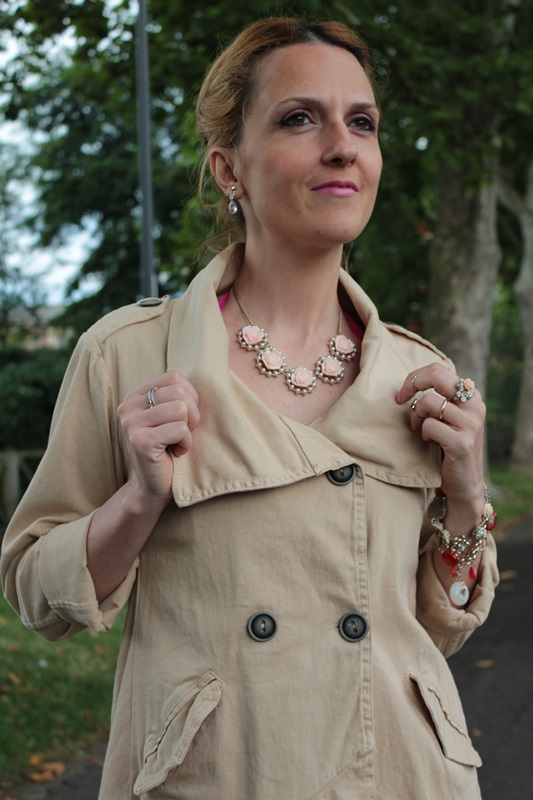 Margaret Dallospedale, Fashion blogger, The Indian Savage diary, Fashion blog, www.indiansavage.com, fashion tips, Lifestyle, How to wear, Double-breasted trench coat,  7