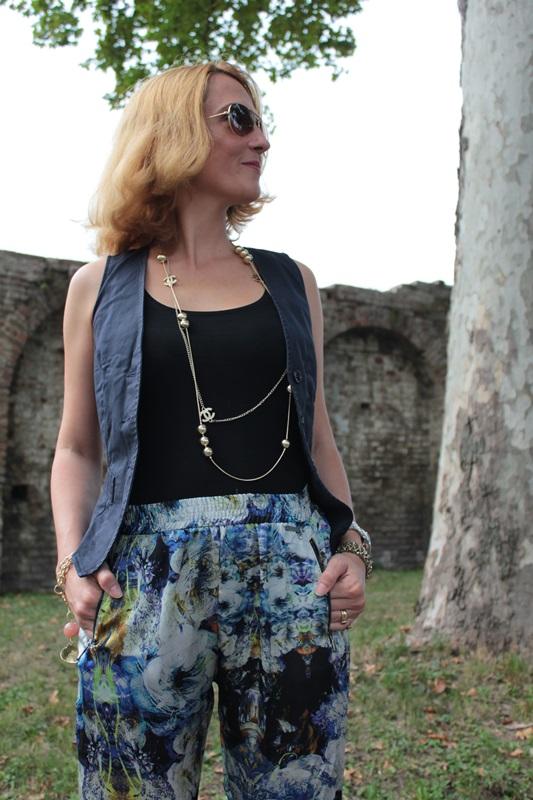 Margaret Dallospedale, Fashion blogger, The Indian Savage diary, Fashion blog, www.indiansavage.com, fashion tips, Lifestyle, How to wear, Pajama pants,  10