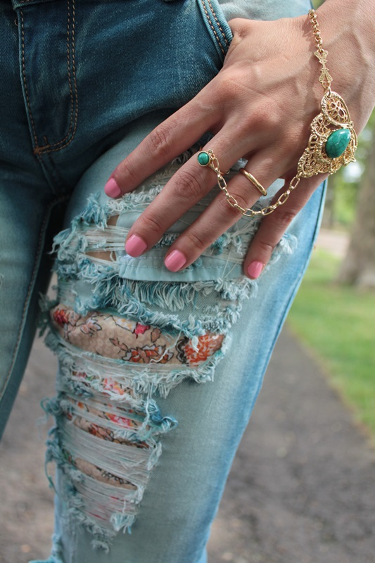 Margaret Dallospedale, Fashion blogger, The Indian Savage diary, Fashion blog, www.indiansavage.com, fashion tips, Lifestyle, How to wear, Ripped jeans,  10