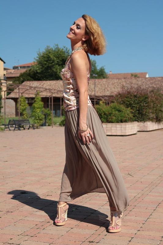 Corset Top Fashion Reflection 19 By Maggie Dallospedale