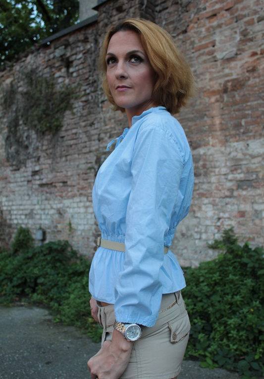 Margaret Dallospedale, Fashion blogger, The Indian Savage diary, Fashion blog, www.indiansavage.com, fashion tips, Lifestyle, How to wear, baby blue and beige, 5