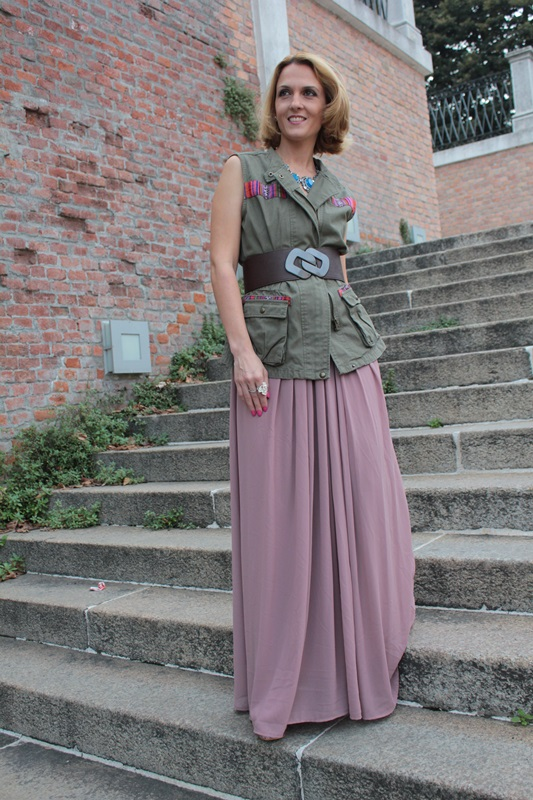 Margaret Dallospedale, Fashion blogger, The Indian Savage diary, Fashion blog, www.indiansavage.com, fashion tips, Lifestyle, How to wear, Military Style, 1
