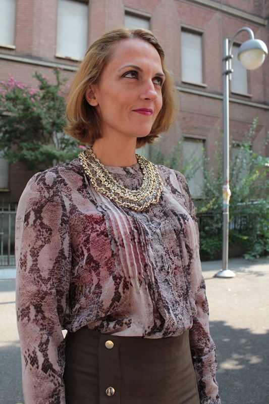 Margaret Dallospedale, Fashion blogger, The Indian Savage diary, Fashion blog, www.indiansavage.com, fashion tips, Lifestyle, How to wear, Classy Python, 10