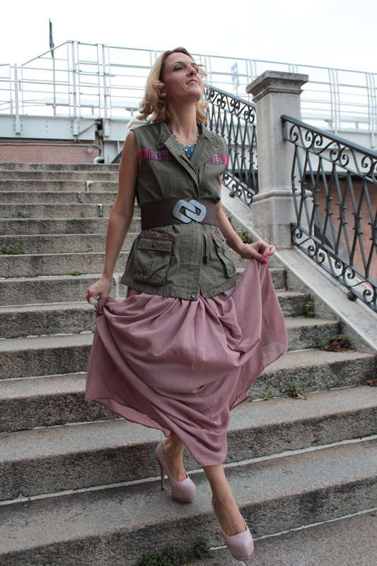Margaret Dallospedale, Fashion blogger, The Indian Savage diary, Fashion blog, www.indiansavage.com, fashion tips, Lifestyle, How to wear, Military Style, 3