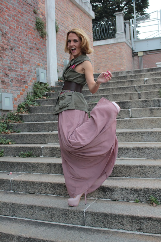 Margaret Dallospedale, Fashion blogger, The Indian Savage diary, Fashion blog, www.indiansavage.com, fashion tips, Lifestyle, How to wear, Military Style, 4