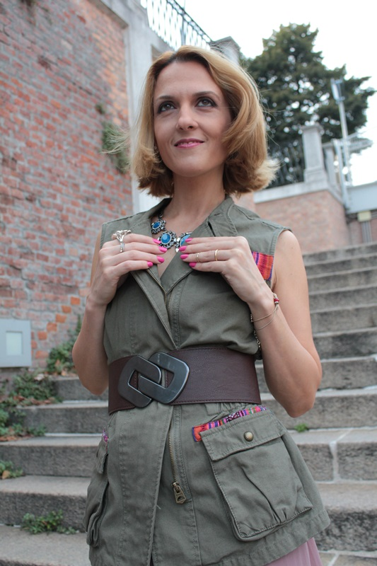 Margaret Dallospedale, Fashion blogger, The Indian Savage diary, Fashion blog, www.indiansavage.com, fashion tips, Lifestyle, How to wear, Military Style, 8