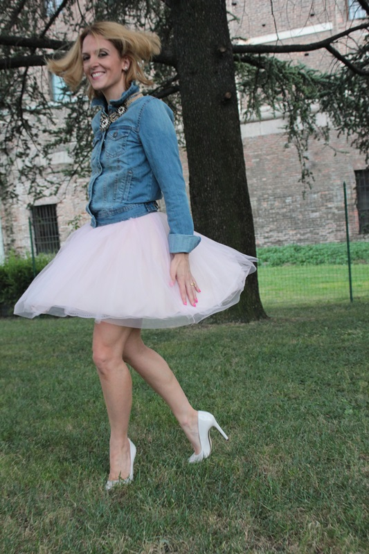 Margaret Dallospedale, Fashion blogger, The Indian Savage diary, Fashion blog, www.indiansavage.com, fashion tips, Lifestyle, How to wear, denim and tulle skirt, 1