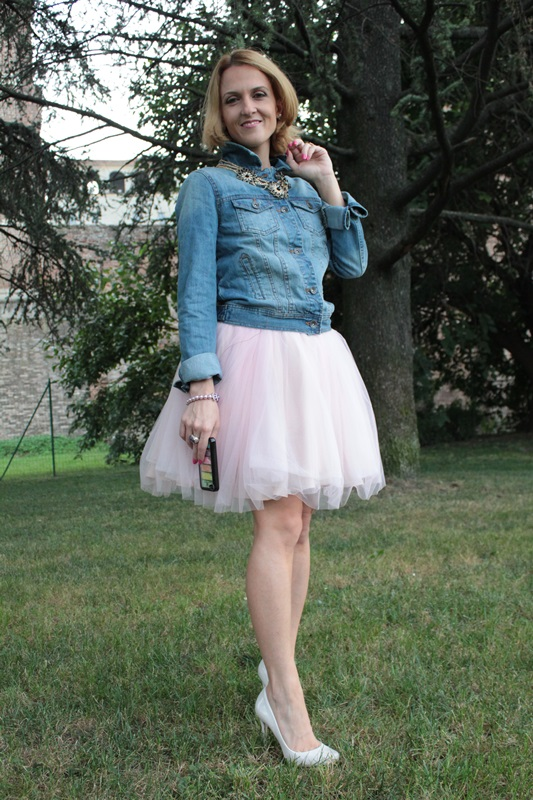 Margaret Dallospedale, Fashion blogger, The Indian Savage diary, Fashion blog, www.indiansavage.com, fashion tips, Lifestyle, How to wear, denim and tulle skirt, 4