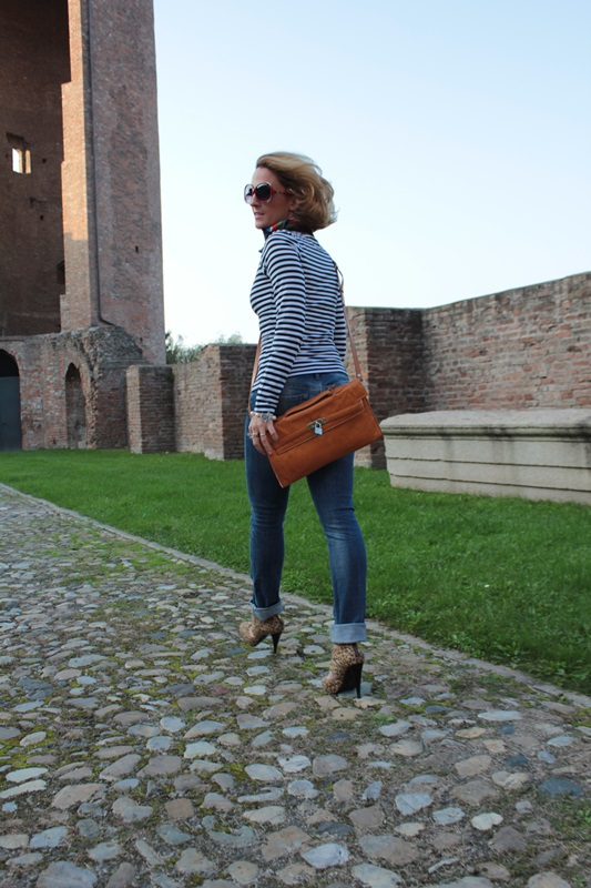 Margaret Dallospedale, Fashion blogger, Maggie Dallospedale Fashion diary, fashion tips, Lifestyle, Animal and stripes... Mixing Prints, 0