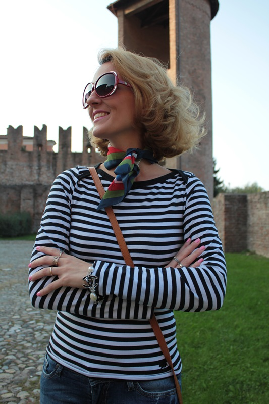 Margaret Dallospedale, Fashion blogger, Maggie Dallospedale Fashion diary, fashion tips, Lifestyle, Animal and stripes... Mixing Prints, 11