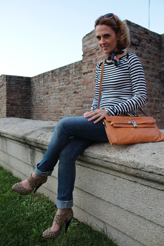 Margaret Dallospedale, Fashion blogger, Maggie Dallospedale Fashion diary, fashion tips, Lifestyle, Animal and stripes... Mixing Prints, 8