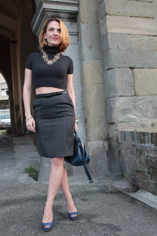 Margaret Dallospedale, Fashion blogger, Maggie Dallospedale Fashion diary, fashion tips, Lifestyle, Crop top and skirt, 1