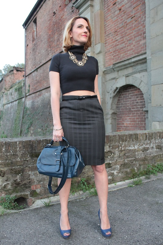 Margaret Dallospedale, Fashion blogger, Maggie Dallospedale Fashion diary, fashion tips, Lifestyle, Crop top and skirt, 11