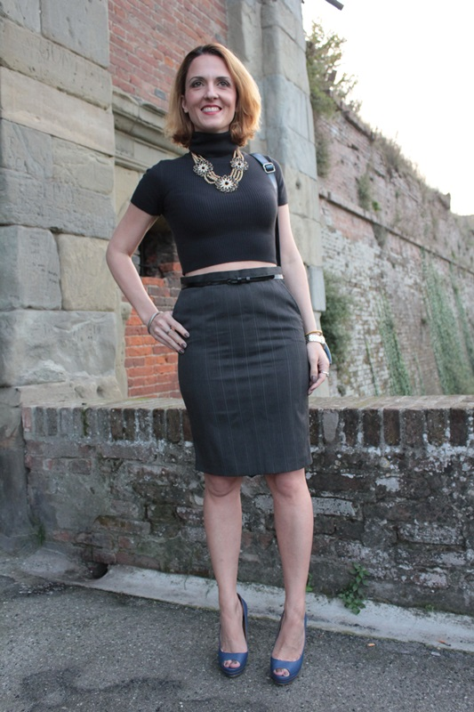 Margaret Dallospedale, Fashion blogger, Maggie Dallospedale Fashion diary, fashion tips, Lifestyle, Crop top and skirt, 4