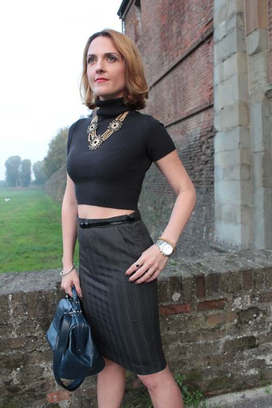 Margaret Dallospedale, Fashion blogger, Maggie Dallospedale Fashion diary, fashion tips, Lifestyle, Crop top and skirt, 9