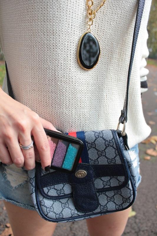 Margaret Dallospedale, Fashion blogger, Maggie Dallospedale Fashion diary, fashion tips, Lifestyle, Denim shorts and sweater, 10