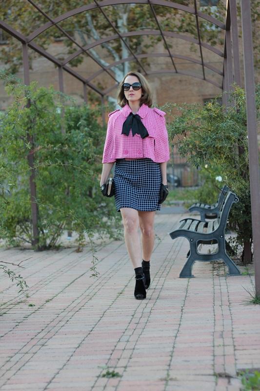 Margaret Dallospedale, Fashion blogger, Maggie Dallospedale Fashion diary, fashion tips, Lifestyle, Plaid on Plaid, 1
