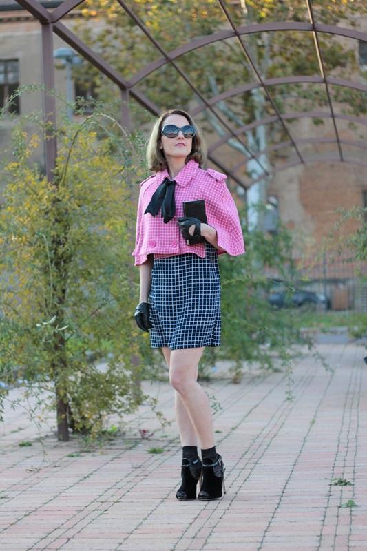 Margaret Dallospedale, Fashion blogger, Maggie Dallospedale Fashion diary, fashion tips, Lifestyle, Plaid on Plaid, 7