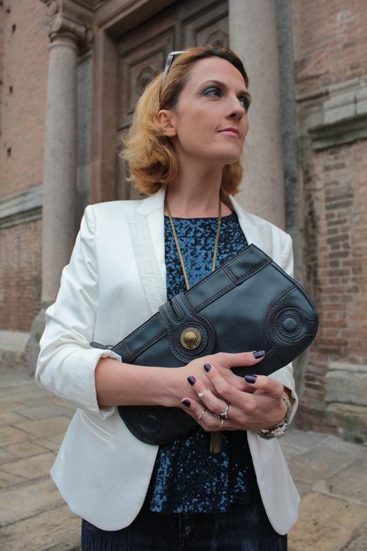 Margaret Dallospedale, Fashion blogger, Maggie Dallospedale Fashion diary, fashion tips, Lifestyle, sparkle top and jeans, 10