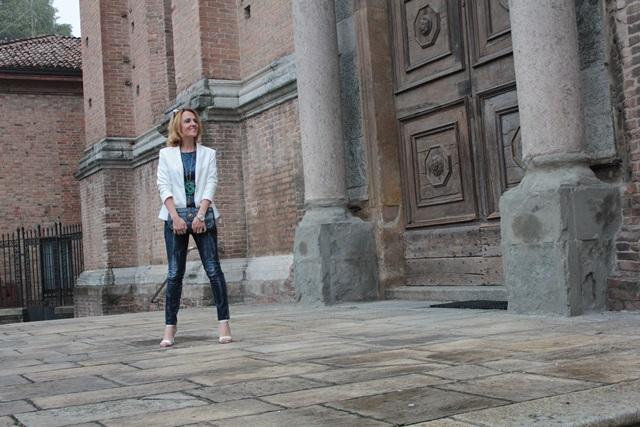 Margaret Dallospedale, Fashion blogger, Maggie Dallospedale Fashion diary, fashion tips, Lifestyle, sparkle top and jeans, 14