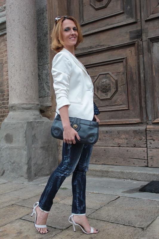 Margaret Dallospedale, Fashion blogger, Maggie Dallospedale Fashion diary, fashion tips, Lifestyle, sparkle top and jeans, 7