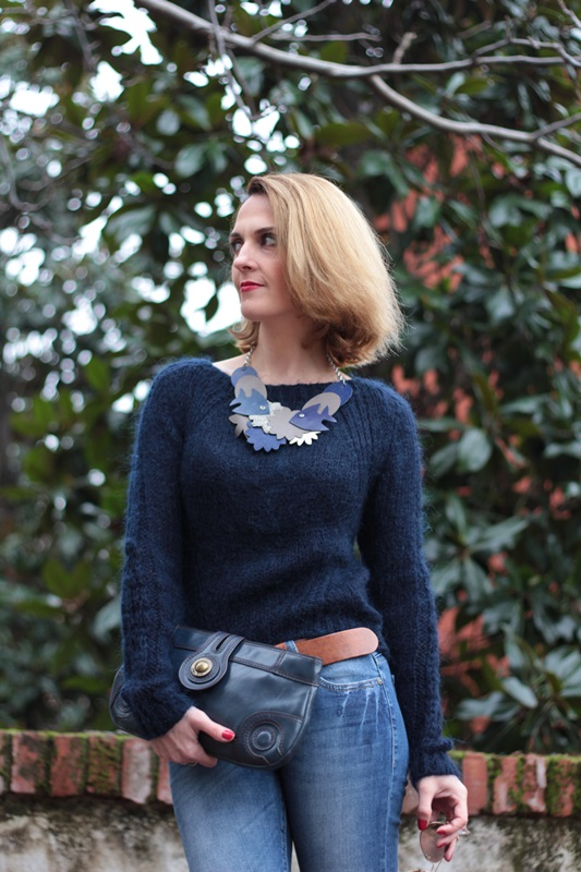 Margaret Dallospedale, Maggie Dallospedale fashion diary, Fashion blog, Fashion blogger,  fashion tips, how to wear, Outfits, OOTD, Fall outfit, Blue on Blue, 10