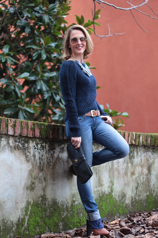 Margaret Dallospedale, Maggie Dallospedale fashion diary, Fashion blog, Fashion blogger,  fashion tips, how to wear, Outfits, OOTD, Fall outfit, Blue on Blue, 8