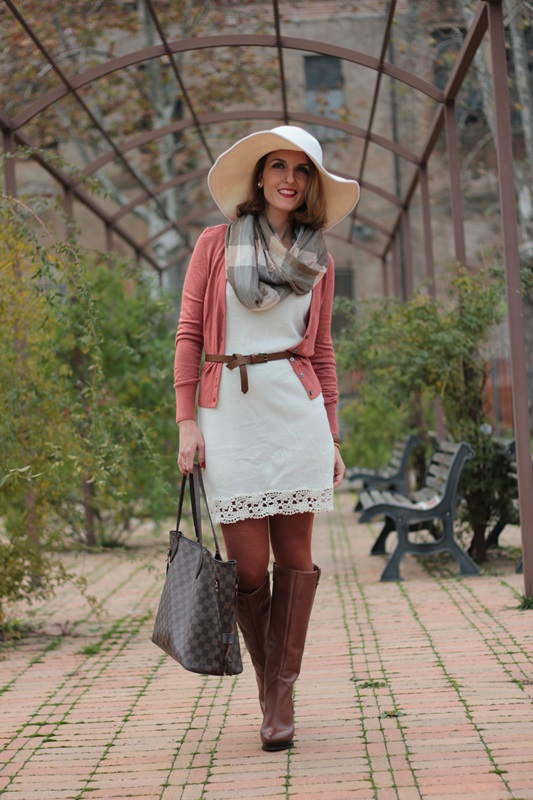 Winter White Style Fashion Outfit 84