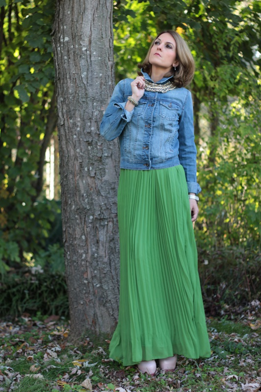 Long green skirt how to wear – Modern skirts blog for you