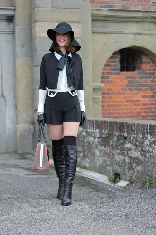 Black and White Shirt and Short (Fashion Outfit #79 ...
