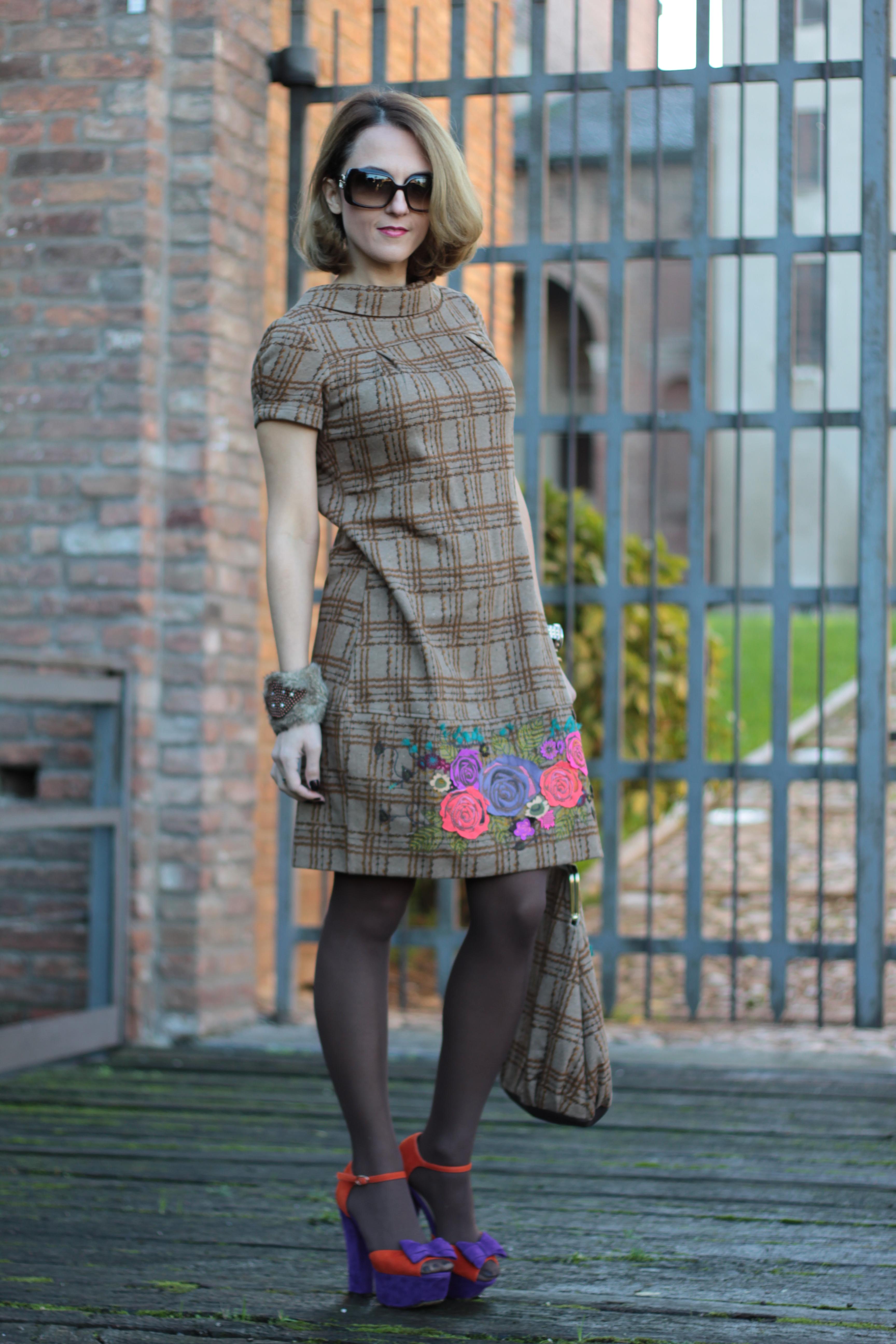 Little Patterned Dress | Upbeat Soles | Orlando Florida