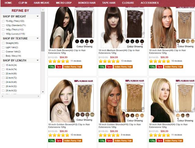 Clip In Hair Extensions For A Perfect Hairstyle Indiansavage
