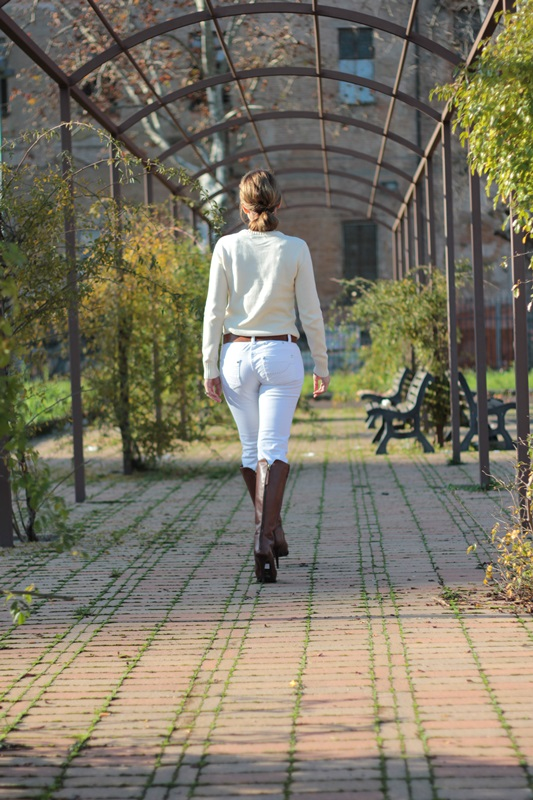 Fashion blogger, Fashion blog, Maggie Dallospedale fashion diary, fashion event, Total white outfit with cognac accessories, 9