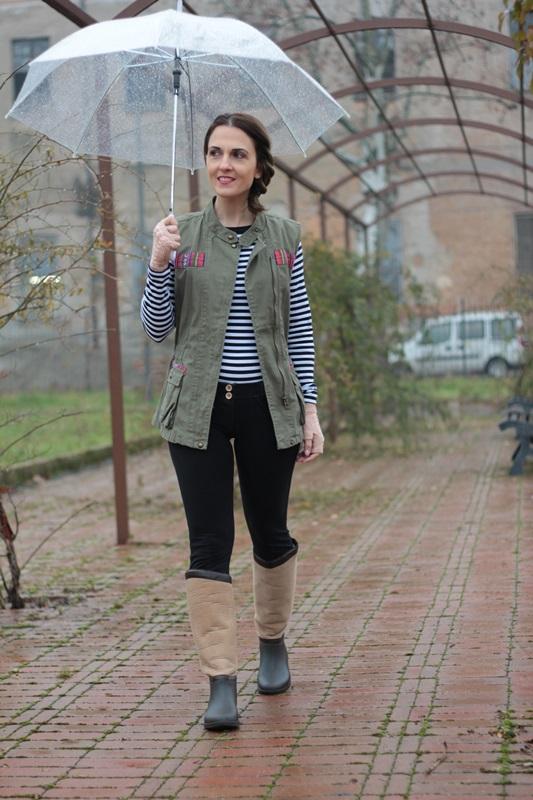 Fashion blogger, Fashion blog, Maggie Dallospedale fashion diary, fashion outfit, Rainy Day Outfit, 1