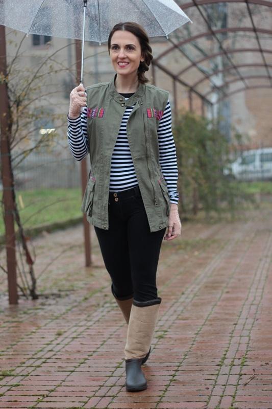 Fashion blogger, Fashion blog, Maggie Dallospedale fashion diary, fashion outfit, Rainy Day Outfit, 2
