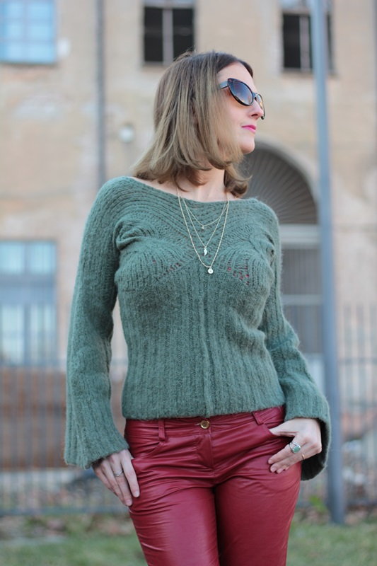 Fashion blogger, Fashion blog, Maggie Dallospedale fashion diary, fashion outfit, Cypress green outfit, 9
