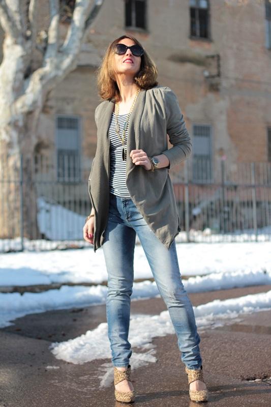 Fashion blogger, Fashion blog, Maggie Dallospedale fashion diary, fashion outfit, Fashion Blogger question, Army Chic Blazer, 1