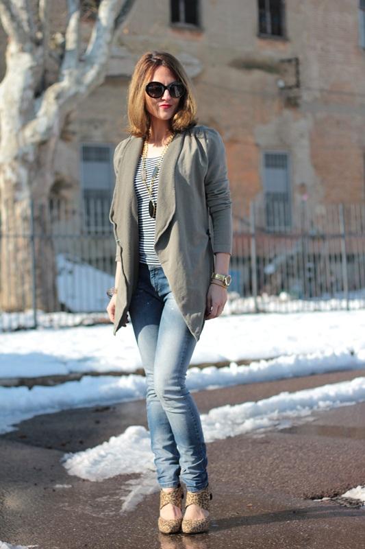 Fashion blogger, Fashion blog, Maggie Dallospedale fashion diary, fashion outfit, Fashion Blogger question, Army Chic Blazer, 11