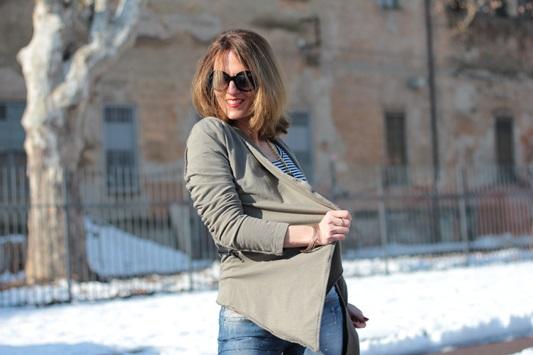 Fashion blogger, Fashion blog, Maggie Dallospedale fashion diary, fashion outfit, Fashion Blogger question, Army Chic Blazer, 9