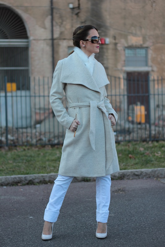 Fashion blogger, Fashion blog, Maggie Dallospedale fashion diary, fashion outfit, Total White Outfit, 0