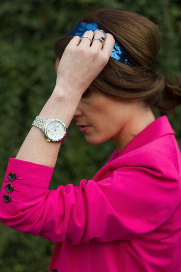 Michael Kors Watch, Sequins headband