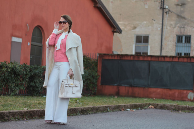 Fashion blogger, Fashion blog, Maggie Dallospedale fashion diary, fashion outfit, Bianco Rosa, 16