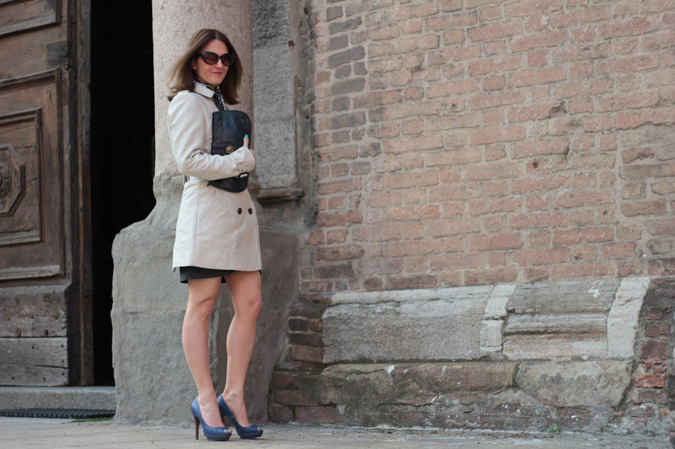 Trench Coat A Spring Iconic piece (Fashion Outfit of the Day)