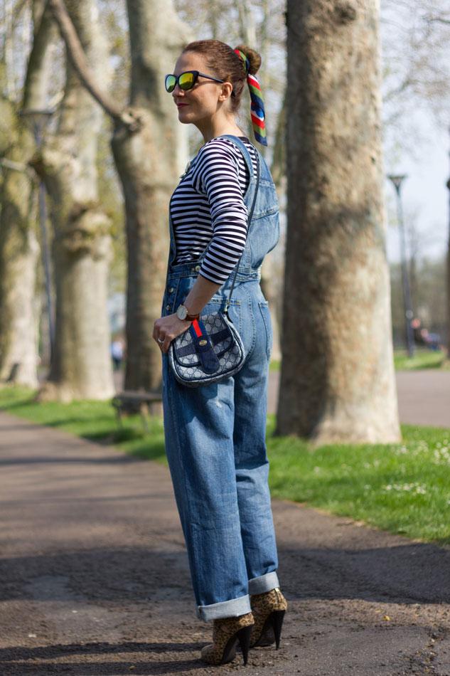 Fashion blogger, Fashion blog, Maggie Dallospedale fashion diary, fashion outfit, Overalls Style, leo heels