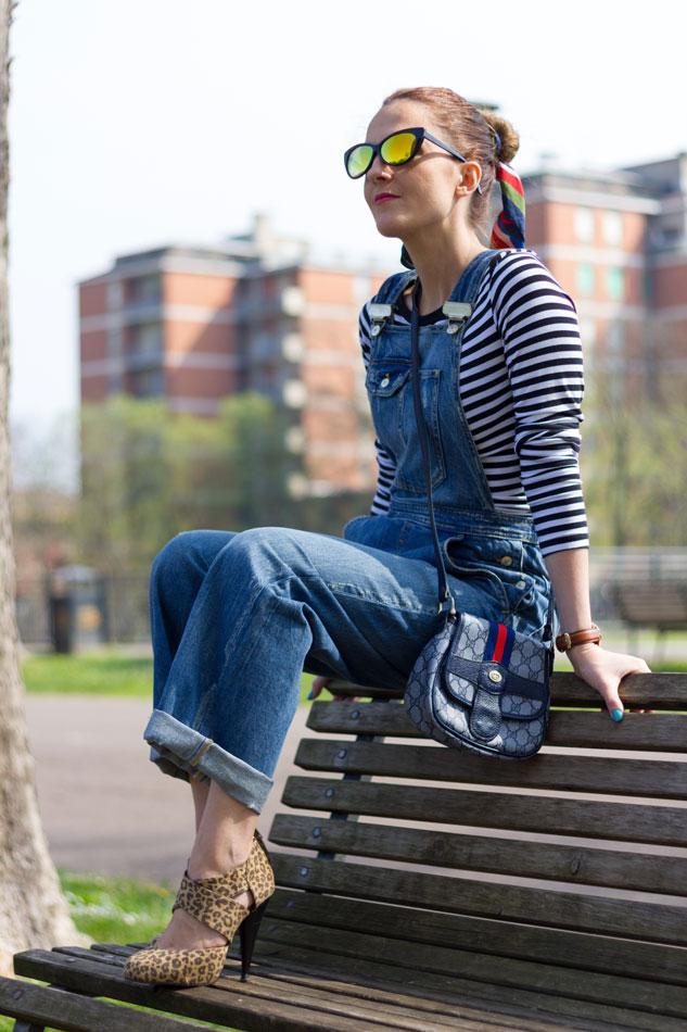 Fashion blogger, Fashion blog, Maggie Dallospedale fashion diary, fashion outfit, Overalls Style, spring