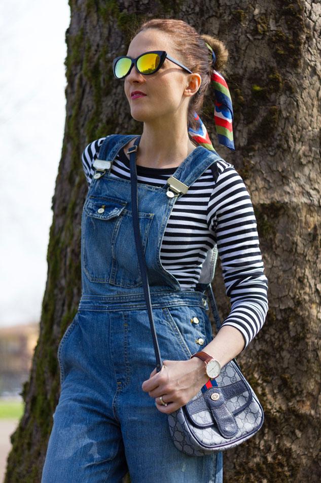 Fashion blogger, Fashion blog, Maggie Dallospedale fashion diary, fashion outfit, Overalls Style, sunnies